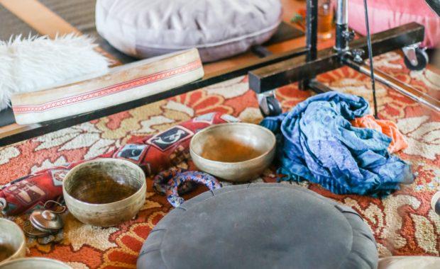 Viaje Sonoro y Baño de Gong