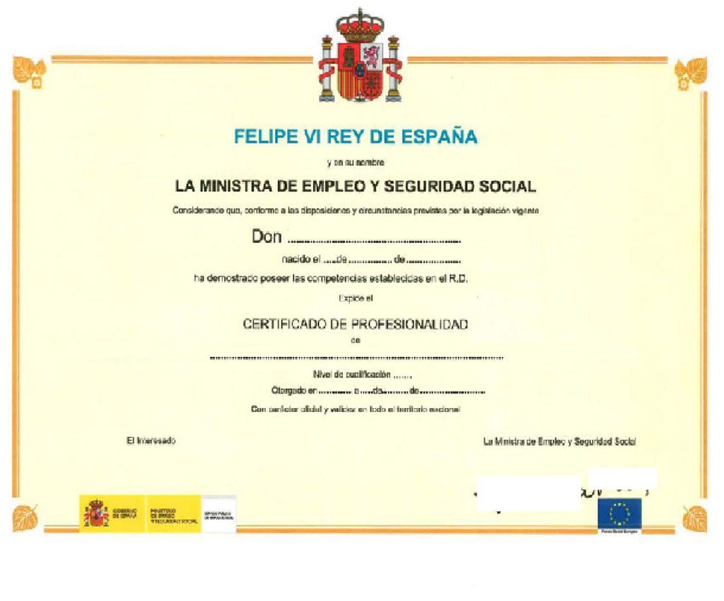 Certificado de Profesionalidad Instructor de Yoga en Navarra.